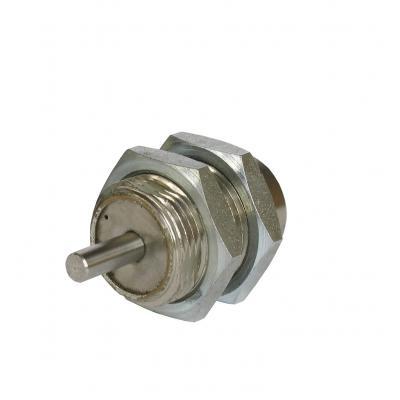 Cilindro a cartuccia semplice effetto con stelo non filettato   Alesaggio 10 mm Corsa 15 mm
