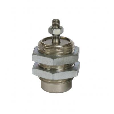 Cilindro a cartuccia semplice effetto con stelo filettato   Alesaggio 6 mm Corsa 5 mm