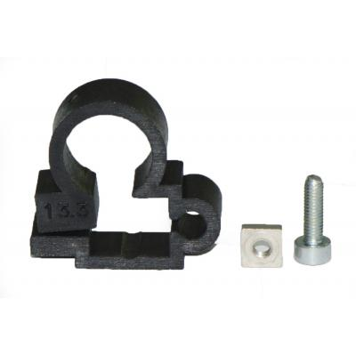 Plastic fixing clamps DSM1C for cylinders ISO 6432 Bore 12