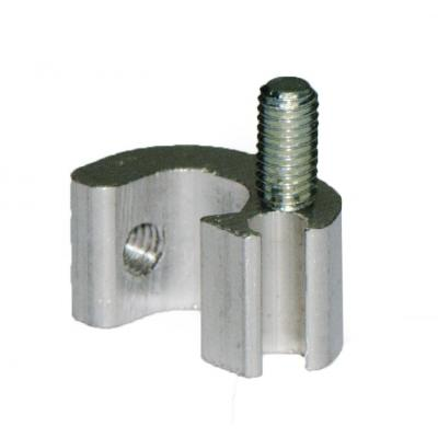 Plastic fixing clamps DSM1C for cylinders ISO 15552 con camicia estrusa Bore 32-40