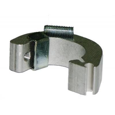 Plastic fixing clamps DSM1C for cylinders ISO 15552 con camicia estrusa Bore 125