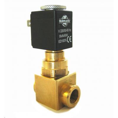 Elettrovalvola 2/2 vie NA 1/4G pass. 5,5mm per compressori + bobina B3