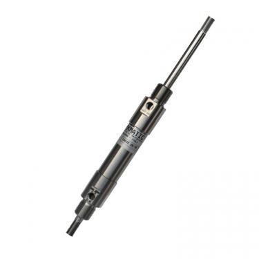 Minicilindro Inox ISO 6432 Stelo Passante dopp. eff. ammort. ispez. Avvitato Ales 20 Cor 80