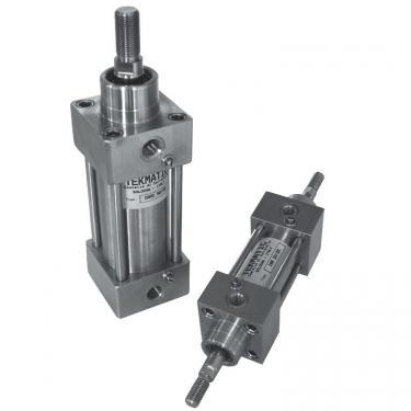 Cilindro Inox ISO 15552 Stelo Passante dopp. eff. amm. magn. Ales 32 Cor 200