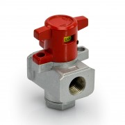 Cutting off valve for unit G. 1/4""