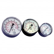 Pressure gauges Diam. 50 mm 0-6 BAR Connection 1/8 Psi 0-86