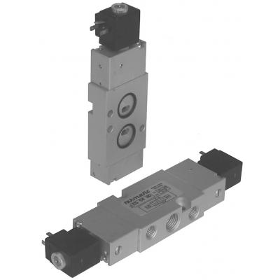Solenoid valves NAMUR a 5/2 way 1/4G 1 stable position with coil with spring return
