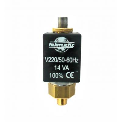 Direct acting solenoid valve 2/2 way NA 1/8G male orefice 2,5