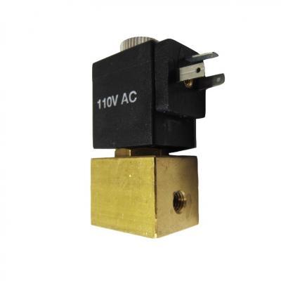 Elettrovalvola 2/2 vie NC M5 passaggio 0,8 mm completa di bobina B5
