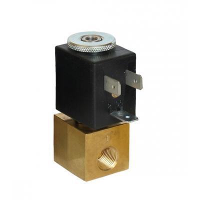 Elettrovalvola 2/2 vie NA M5-1/8G passaggio 1,2 mm completa di bobina B1