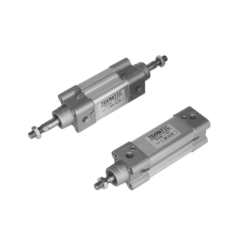 Cylinders double acting cushioned ISO 15552 Bore 125 mm Stroke 50 mm