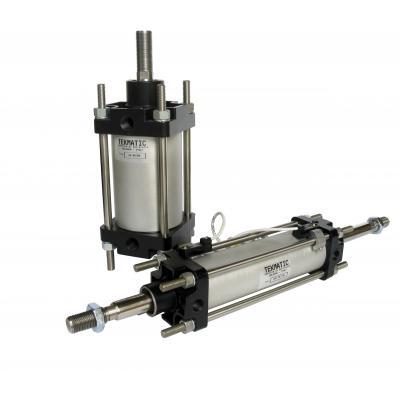 CNOMO a doppio effetto ammortizzato magnetico Alesaggio 80 mm Corsa 125 mm