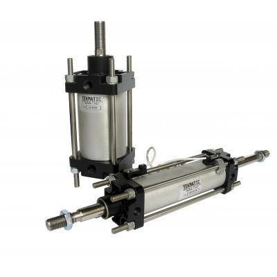 CNOMO a doppio effetto ammortizzato magnetico Alesaggio 80 mm Corsa 500 mm