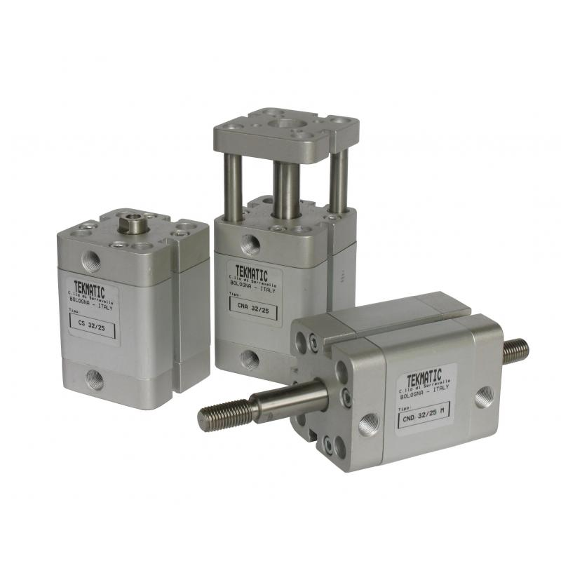 Compact Cylinders double acting magnetic piston non-rotating Bore 40 mm Stroke 80 mm